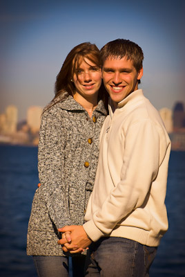 Wedding Portrait of Axtman Engagement